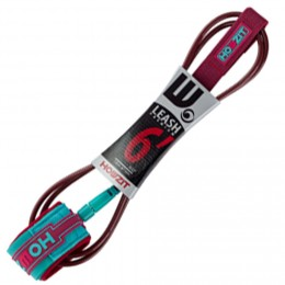 Howzit leash surf premium Burgundy