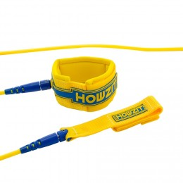 Howzit leash surf premium Yellow