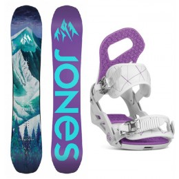 Jones Snowboards pack Dream Catcher  + fix ela