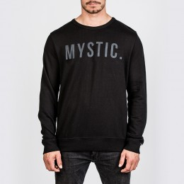 Mystic Skim Screw Sweat Black