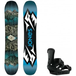 Jones Snowboards pack mountain twin + fix custom