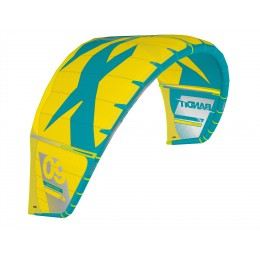 F-One bandit XI turquoise / yellow