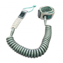 Mystic Coiled Leash Gris