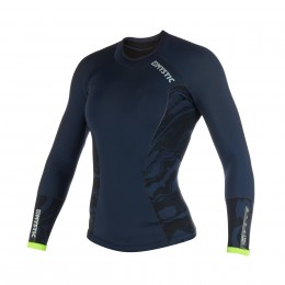 Mystic Diva L/S Neoprene 2mm Navy/Lime