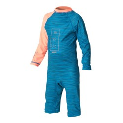 Star Rash Overall Kids Corail