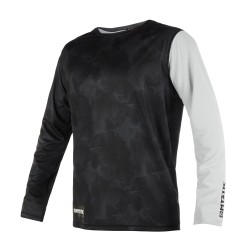 Majestic L/S Quickdry Black