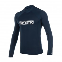 Mystic Star L/S Rashvest Junior Navy