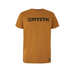 Mystic Brand Tee Moutarde