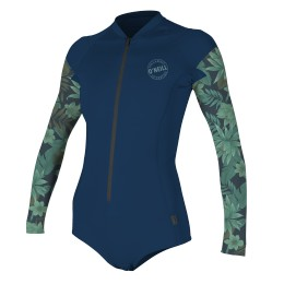 O'Neill Wms FZ Surf Suit Abyss
