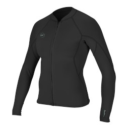O'Neill WMS Reactor II 1.5MM ZIP JACKET Black