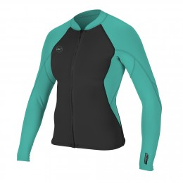 O'Neill WMS Reactor II 1.5MM ZIP JACKET Aqua