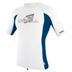 YOUTH PREMIUM SKINS RASHGUARD White