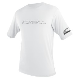 O'Neill YOUTH BASIC SKINS RASH TEE Blanc