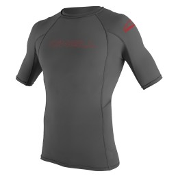 O'Neill YOUTH BASIC SKINS RASHGUARD Gris