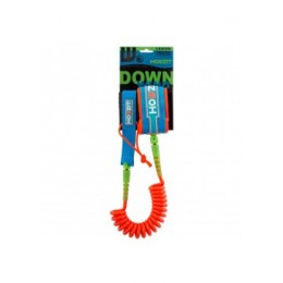 Howzit leash coil 6' down wind