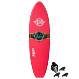 SurfWorx hellcat minimal red