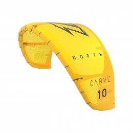 North Kiteboarding Carve Jaune