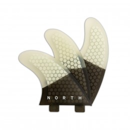 North Kiteboarding Set d'ailerons Coremat North Hexcel