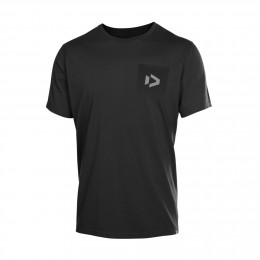Duotone Tee SS Pocket Black