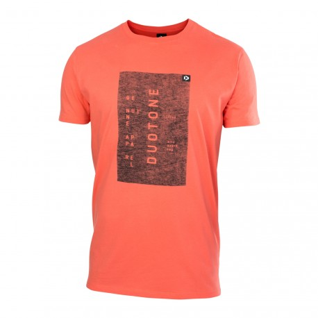 Tee SS Branded Corail