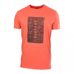 Duotone Tee SS Branded Corail