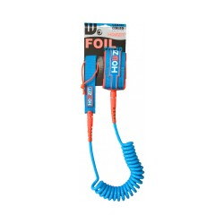 leash foil coiled