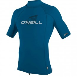 O'Neill SKINS S/S TURTLENECK ULTRA BLUE