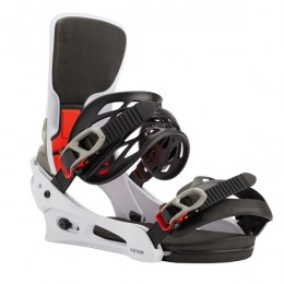 Burton Cartel White/black/multi
