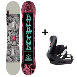 Burton Pack Descendant + freestyle