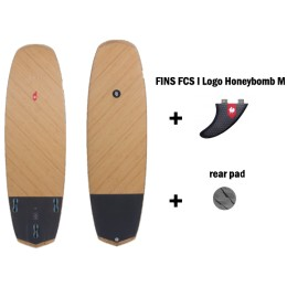 HB Surfkite Anti II Double BIAX pro pack grey pad