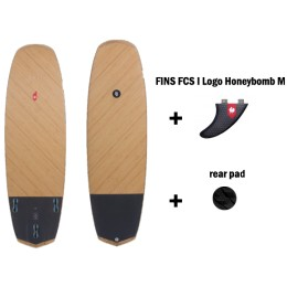 HB Surfkite Anti II Double BIAX pro pack black pad