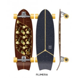 "Flying Wheels MOOREA PLUMERIA 31"" SURFSKATE"