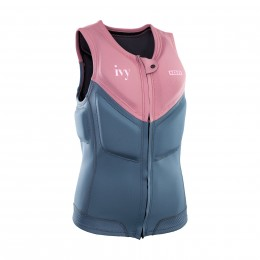 Ion Ivy Vest Women FZ rose/black