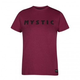 Mystic Savage Tee Burgundy