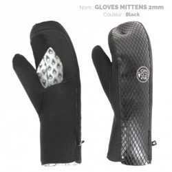 2mm Gloves open MITENS