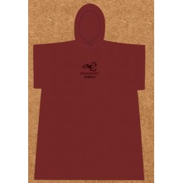 Sooruz Poncho Bio LEAF RED