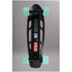 "SKATE ELECTRIC POCKET ROCKET 26"" PLASTIC AQUA"
