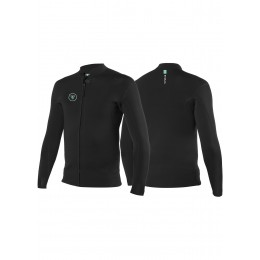 Vissla 7 SEAS 2MM FRONT ZIP JACKET-BLK