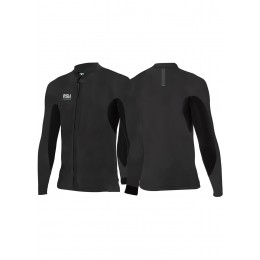 Vissla 2MM NORTH SEAS FRONT ZIP-BLK