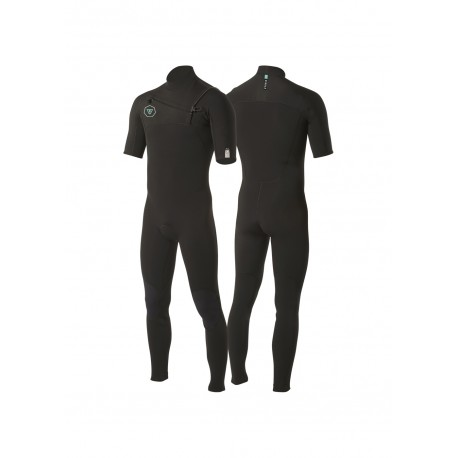 7 SEAS 2-2 SS FULL SUIT-BLK