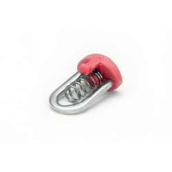 Mast Extension Push-Button + Spring (Red or Black)