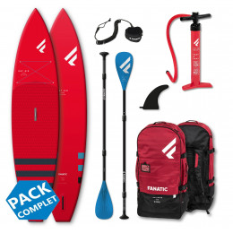 Fanatic Pack Ray Air Pure Red