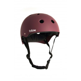 Follow Casque SAFETY FIRST red