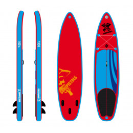 """Surfpistols PACK STAND UP PADDLE PIRATE 10'6""""X32''X5''"""