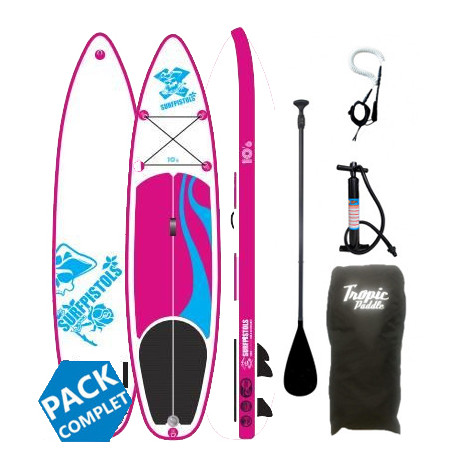 PACK STAND UP PADDLE PIN UP 10'6X32''X5''