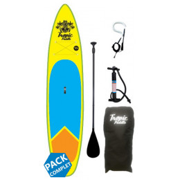 """Surfpistols PACK STAND UP PADDLE TROPIC 10'6""""X32''X5''"""