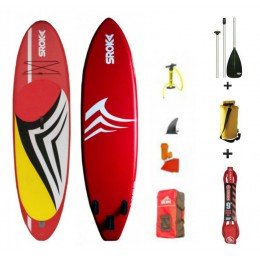 Sroka pack MALIBU 10'6 + pagaie 3 parties + leash