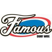 Famous surf wax surf wax warm green label famous