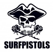 Surfpistols plaque déco metal Hight surf