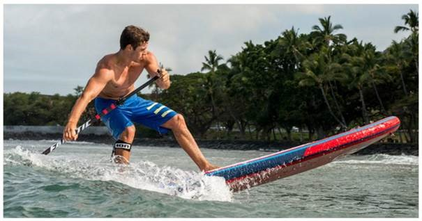 Action-planche-SUP-gonflable-Fanatic